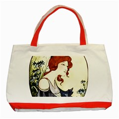 Vintage 1650593 1920 Classic Tote Bag (red)