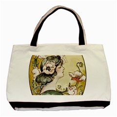 Lady 1650603 1920 Basic Tote Bag (two Sides)