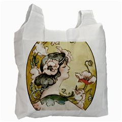 Lady 1650603 1920 Recycle Bag (one Side)