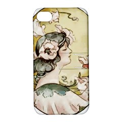 Lady 1650603 1920 Apple Iphone 4/4s Hardshell Case With Stand