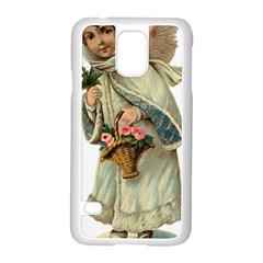 Angel 1718333 1920 Samsung Galaxy S5 Case (white)