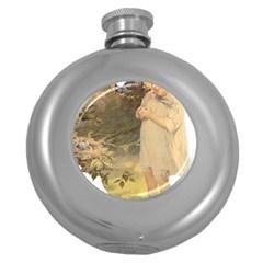 Vintage 1650586 1920 Round Hip Flask (5 Oz)