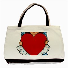 Child 1718349 1920 Basic Tote Bag (two Sides)
