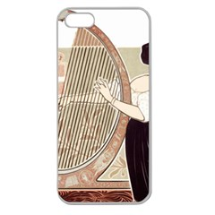 Woman 1503387 1920 Apple Seamless Iphone 5 Case (clear)
