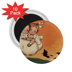 Halloween 1461955 1920 2 25  Magnets (10 Pack)