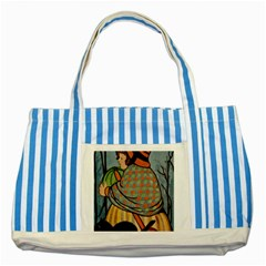 Witch 1462701 1920 Striped Blue Tote Bag
