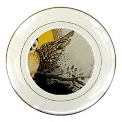 Owl 1462736 1920 Porcelain Plates