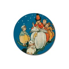 Witch 1461949 1920 Magnet 3  (round)