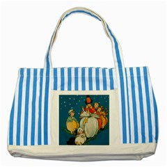 Witch 1461949 1920 Striped Blue Tote Bag