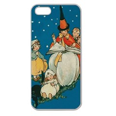 Witch 1461949 1920 Apple Seamless Iphone 5 Case (clear)