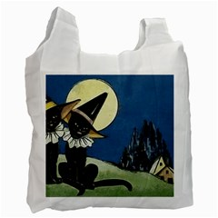 Black Cat 1462738 1920 Recycle Bag (two Side)