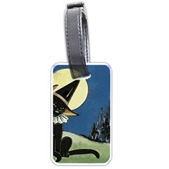 Black Cat 1462738 1920 Luggage Tags (one Side)
