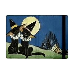 Black Cat 1462738 1920 Apple Ipad Mini Flip Case
