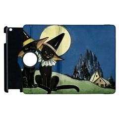Black Cat 1462738 1920 Apple Ipad 2 Flip 360 Case