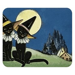 Black Cat 1462738 1920 Double Sided Flano Blanket (small)