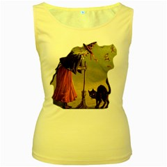Witch 1461961 1920 Women s Yellow Tank Top