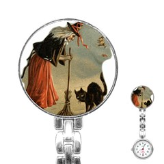 Witch 1461961 1920 Stainless Steel Nurses Watch
