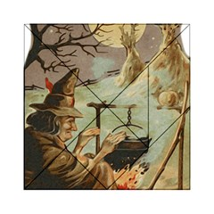 Witch 1461958 1920 Acrylic Tangram Puzzle (6  X 6 )