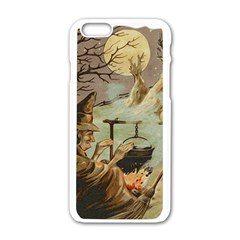 Witch 1461958 1920 Apple Iphone 6/6s White Enamel Case