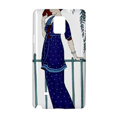 Lady 1318887 1920 Samsung Galaxy Note 4 Hardshell Case