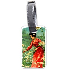 Lady 1334282 1920 Luggage Tags (two Sides)