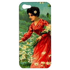 Lady 1334282 1920 Apple Iphone 5 Hardshell Case
