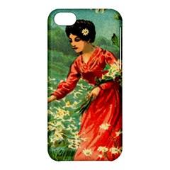 Lady 1334282 1920 Apple Iphone 5c Hardshell Case
