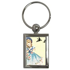 Girl 1370912 1280 Key Chains (rectangle)