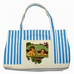 Angel 1332287 1920 Striped Blue Tote Bag