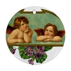 Angel 1332287 1920 Round Ornament (two Sides)