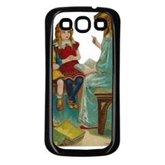Angel 1347118 1920 Samsung Galaxy S3 Back Case (black)