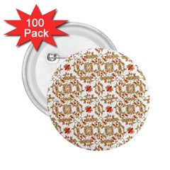 Colorful Modern Pattern 2 25  Buttons (100 Pack)