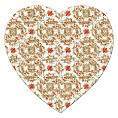 Colorful Modern Pattern Jigsaw Puzzle (heart)