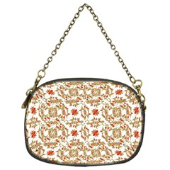 Colorful Modern Pattern Chain Purses (one Side)
