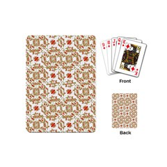 Colorful Modern Pattern Playing Cards (mini)