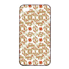 Colorful Modern Pattern Apple Iphone 4/4s Seamless Case (black)