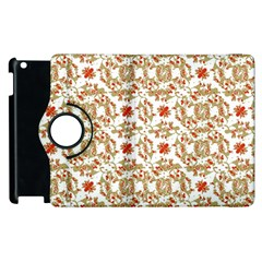 Colorful Modern Pattern Apple Ipad 2 Flip 360 Case