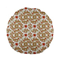Colorful Modern Pattern Standard 15  Premium Round Cushions