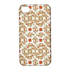 Colorful Modern Pattern Apple Iphone 4/4s Hardshell Case With Stand