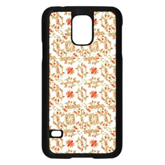 Colorful Modern Pattern Samsung Galaxy S5 Case (black)