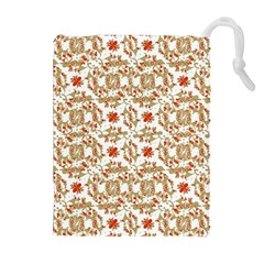 Colorful Modern Pattern Drawstring Pouches (extra Large)