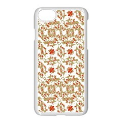 Colorful Modern Pattern Apple Iphone 8 Seamless Case (white)