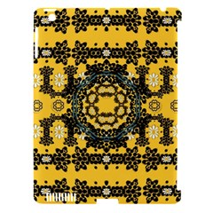 Ornate Circulate Is Festive In A Flower Wreath Decorative Apple Ipad 3/4 Hardshell Case (compatible With Smart Cover)