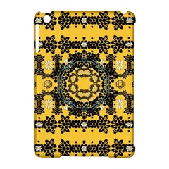 Ornate Circulate Is Festive In A Flower Wreath Decorative Apple Ipad Mini Hardshell Case (compatible With Smart Cover)