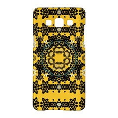 Ornate Circulate Is Festive In A Flower Wreath Decorative Samsung Galaxy A5 Hardshell Case