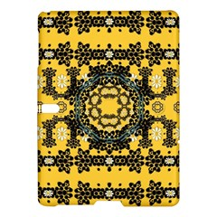 Ornate Circulate Is Festive In A Flower Wreath Decorative Samsung Galaxy Tab S (10 5 ) Hardshell Case
