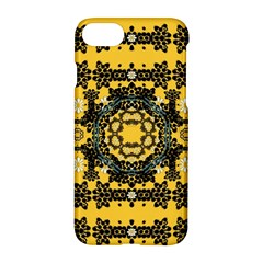 Ornate Circulate Is Festive In A Flower Wreath Decorative Apple Iphone 8 Hardshell Case