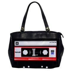 Compact Cassette Office Handbags