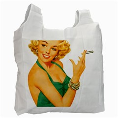 Woman 792872 1920 Recycle Bag (one Side)