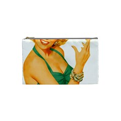 Woman 792872 1920 Cosmetic Bag (small)